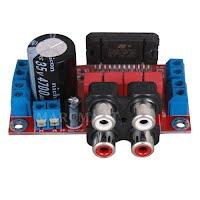 50w Audio Amplifier Simon Waite Dot Com